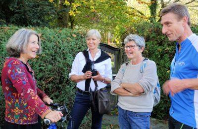 Grüne Feldafing - Ausflug nach Dießen zum Thema Carsharing und Mitfahrbänke