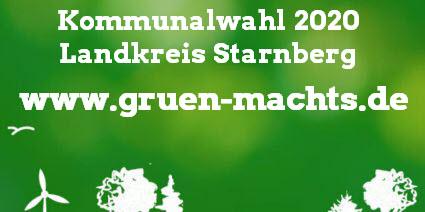 Kommunalwahl 2020 Landkreis Starnberg www.gruen-machts.de