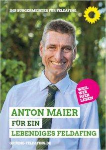 Programm Anton Maier Feldafing Kommunalwahl 2020 Bürgermeisterkandidat