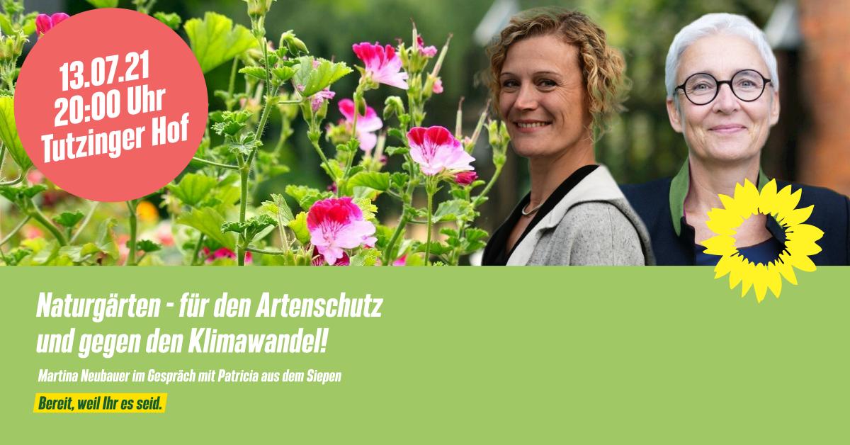 Naturgärten Martina Neubauer und Patricia aus dem Siepen