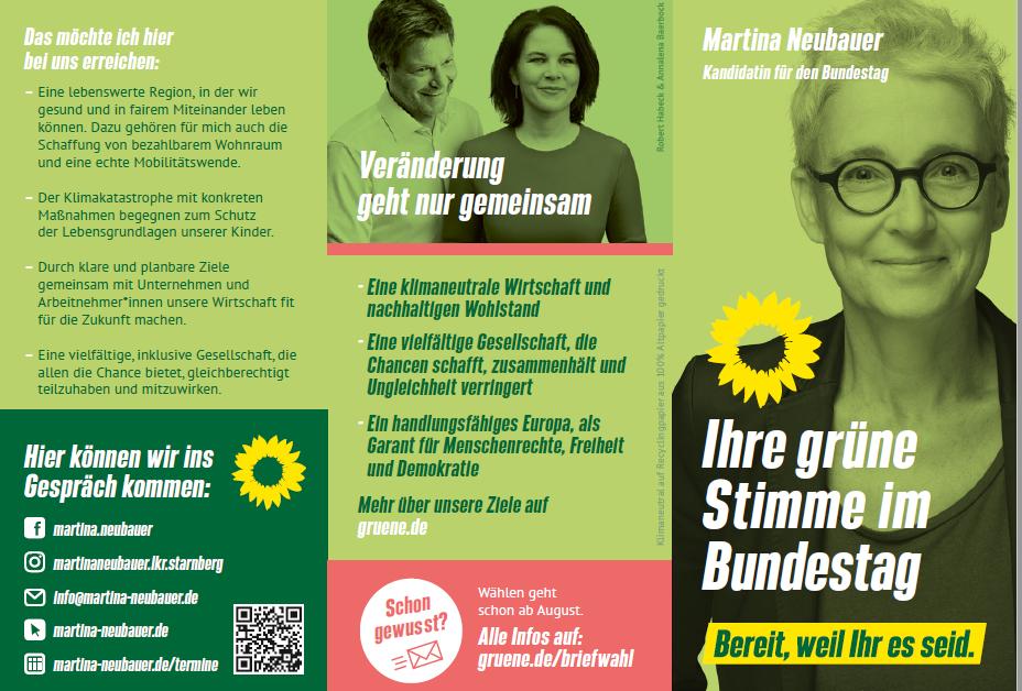 Martina Neubauer Bundestagswahl 2021