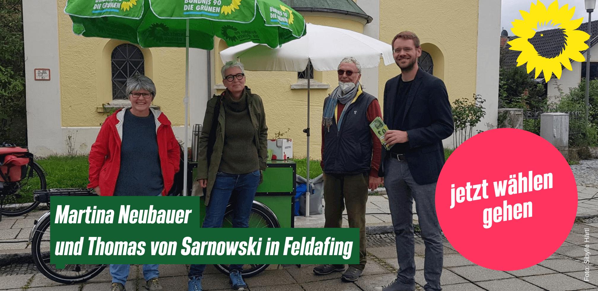 Martina Neubauer und Thomas von Sarnowski in Feldafing