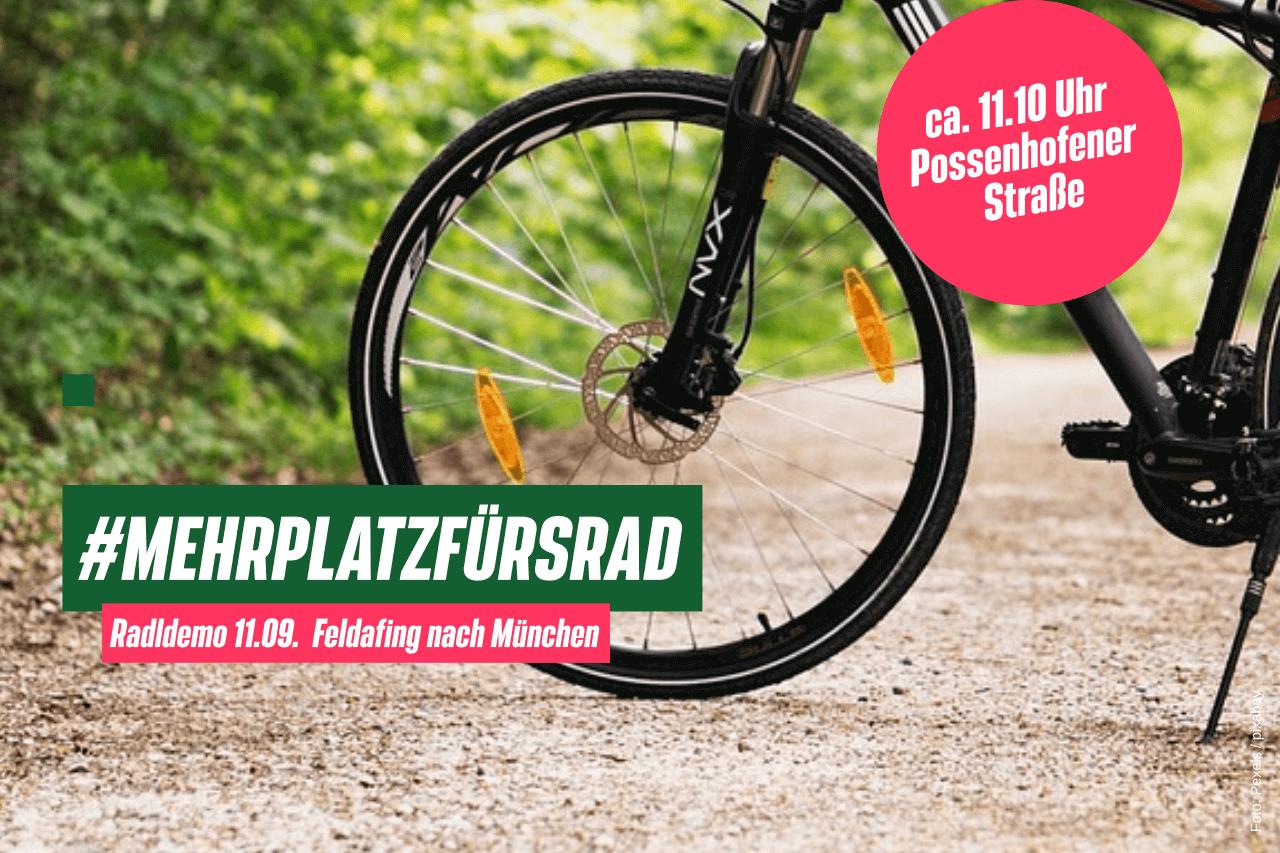 #mehrplatzfuersrad